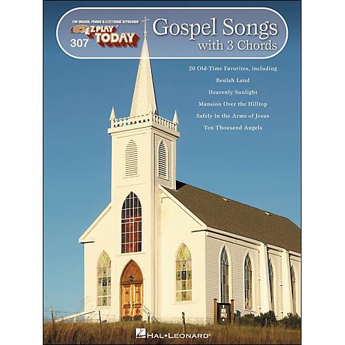 Hal Leonard Gospel Songs with 3 Chords E-Z Play 307-thumbnail