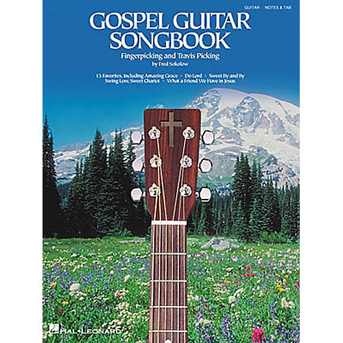 Hal Leonard Gospel Travis Fingerpicking Guitar Tab Songbook-thumbnail