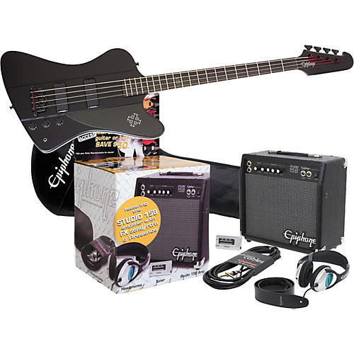 Epiphone Goth Thunderbird IV All Access Bass Pack-thumbnail