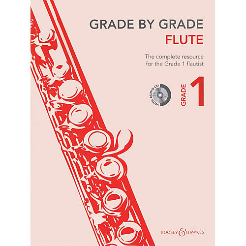 Boosey and Hawkes Grade by Grade - Flute (Grade 1) Boosey & Hawkes Chamber Music Series Softcover with CD