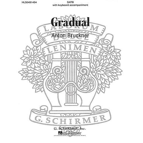 G. Schirmer Gradual composed by A Bruckner