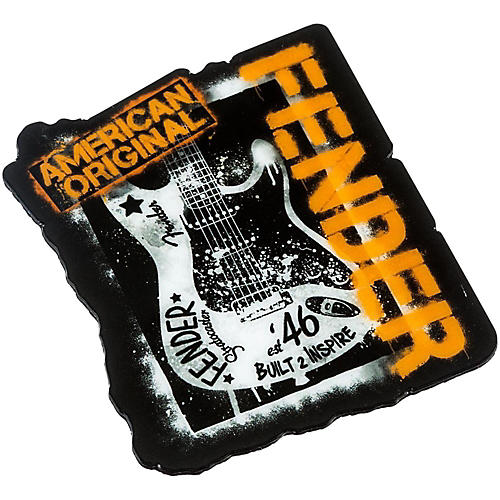 Fender Graffiti Magnet Black