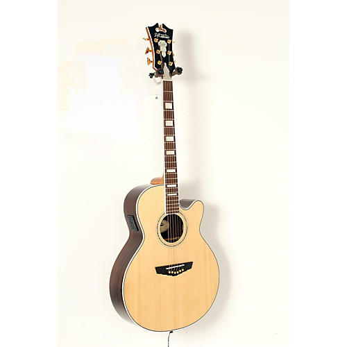 D'Angelico Gramercy Sitka Grand Auditorium Cutaway Acoustic-Electric Guitar-thumbnail