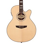 D'Angelico Gramercy Sitka Grand Auditorium Cutaway Acoustic-Electric Guitar