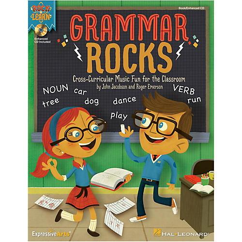 Hal Leonard Grammar Rocks! Book/Listening CD-thumbnail