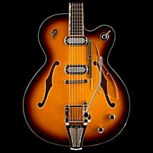 Duesenberg USA Gran Majesto Single Cutaway Semi-Hollow Electric Guitar Vintage Burst