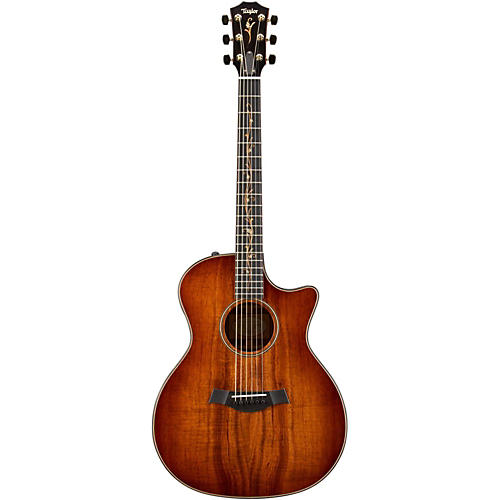 Taylor Grand Auditorium 2013 K24ce Acoustic-Electric Guitar Shaded Edgeburst
