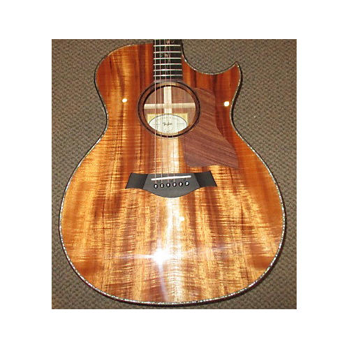 Taylor Grand Auditorium Custom Koa Acoustic Electric Guitar