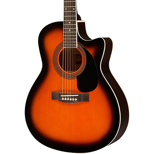 Rogue Grand Concert Cutaway Acoustic-Electric Guitar