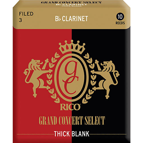 Rico Grand Concert Select Thick Blank Bb Clarinet Reeds-thumbnail