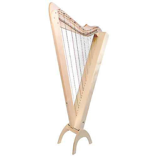 Rees Harps Grand Harpsicle Harp Natural Maple