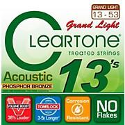 Grand Light Phosphor Bronze Acoustic Guitar Strings (13-53)