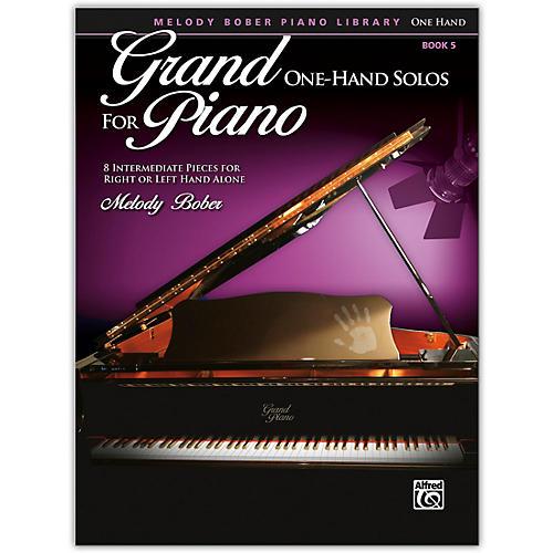 Alfred Grand One-Hand Solos for Piano, Book 5 Intermediate
