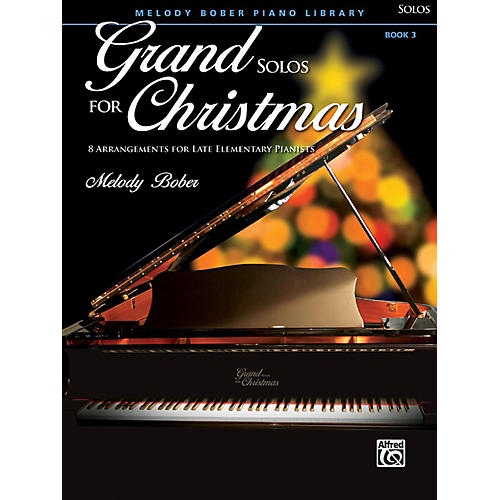 Alfred Grand Solos for Christmas, Book 3 Late Elementary-thumbnail