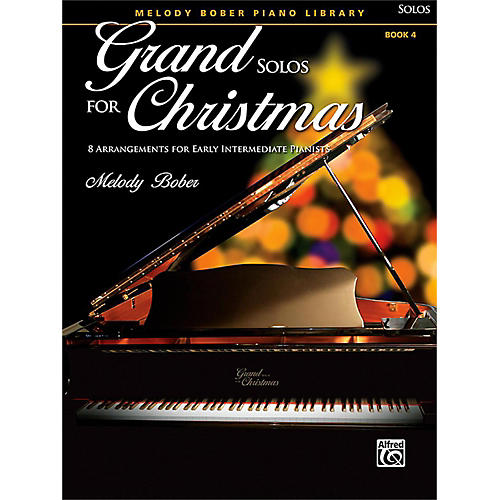 Alfred Grand Solos for Christmas, Book 4 Early Intermediate-thumbnail
