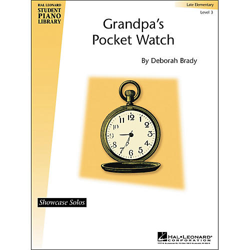 Hal Leonard Grandpa's Pocket Watch Showcase Solo Late Elementary Level 3 Hal Leonard Student Piano Library-thumbnail
