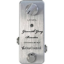 One Control Granith Grey Booster Effects Pedal