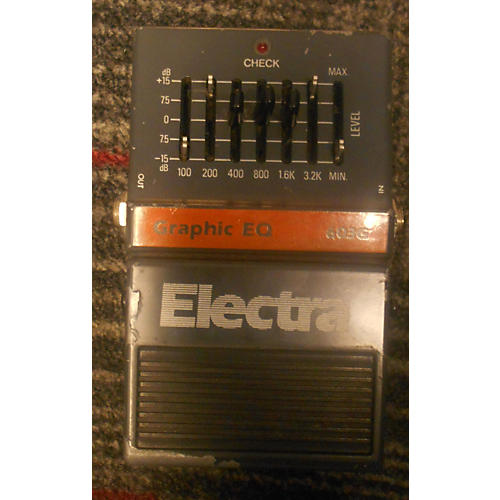 Electra Graphic EQ 603G Pedal