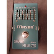 Maxon Graphic Eq Pedal