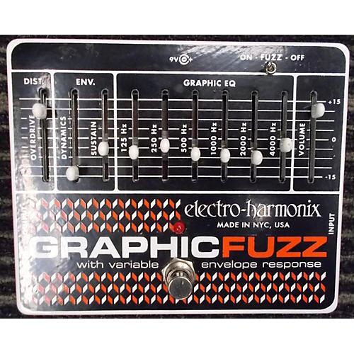 Electro-Harmonix Graphic Fuzz XO Fuzz Effect Pedal-thumbnail