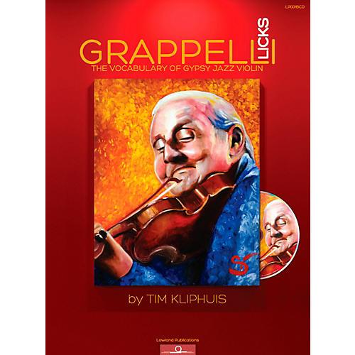 Mel Bay Grappelli Licks: The Vocabulary of Gypsy Jazz