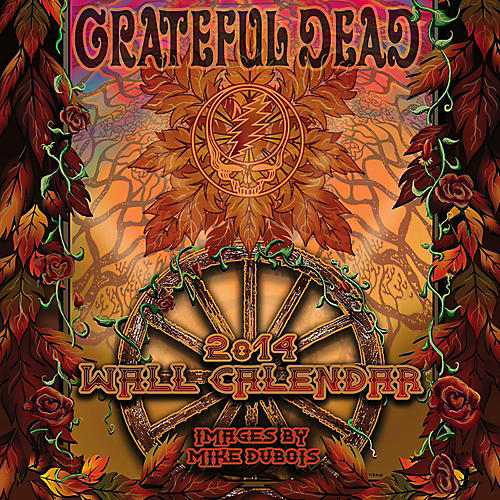 Browntrout Publishing Grateful Dead 2014 Calendar Square 12x12