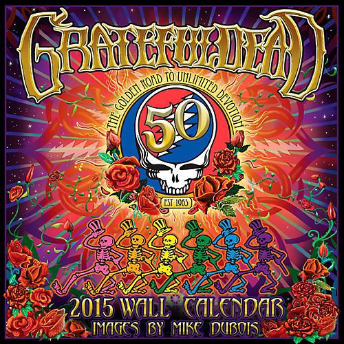 Browntrout Publishing Grateful Dead 2015 Calendar Square 12x12