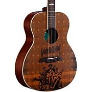 Grateful Dead 50th Anniversary Acoustic Guitar Flag