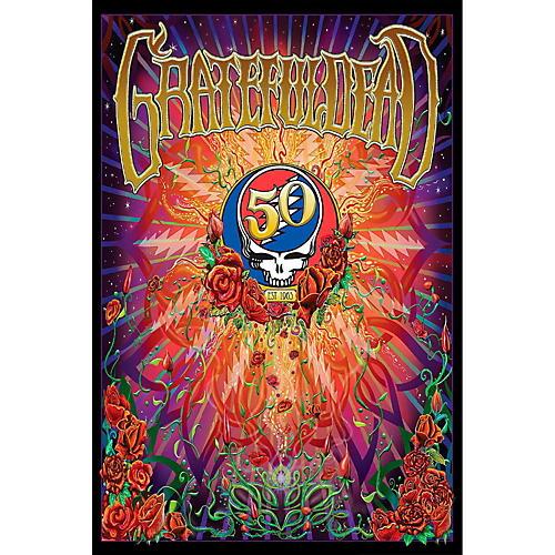 Hal Leonard Grateful Dead 50th Anniversary Wall Poster-thumbnail