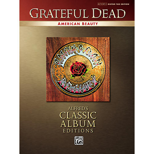 Alfred Grateful Dead American Beauty Classic Albums Edition Guitar Tab Songbook-thumbnail