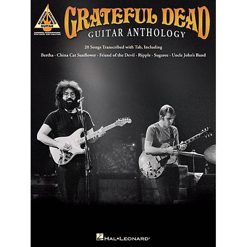 Hal Leonard Grateful Dead Guitar Anthology Guitar Tab Songbook-thumbnail