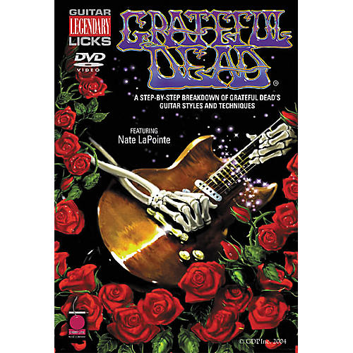 Cherry Lane Grateful Dead Legendary Licks (DVD)-thumbnail