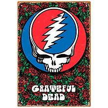 Hal Leonard Grateful Dead Roses Tin Sign