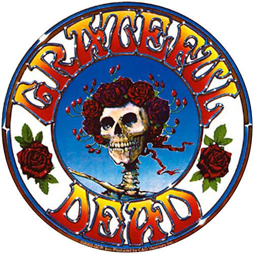 C&D Visionary Grateful Dead Skull & Roses Sticker