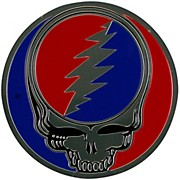 C&D Visionary Grateful Dead Steal Your Face Heavy Metal Sticker