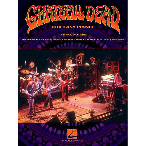 Hal Leonard Grateful Dead for Easy Piano-thumbnail