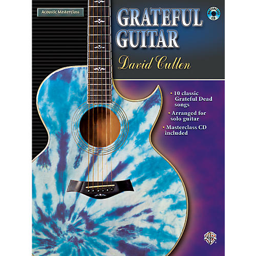 Alfred Grateful Guitar - by David Cullen (Book/CD)
