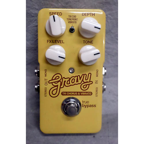 TC Electronic Gravy Tri Chorus And Vibrato Effect Pedal-thumbnail