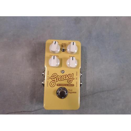 TC Electronic Gravy Tri Chorus And Vibrato Effect Pedal-thumbnail
