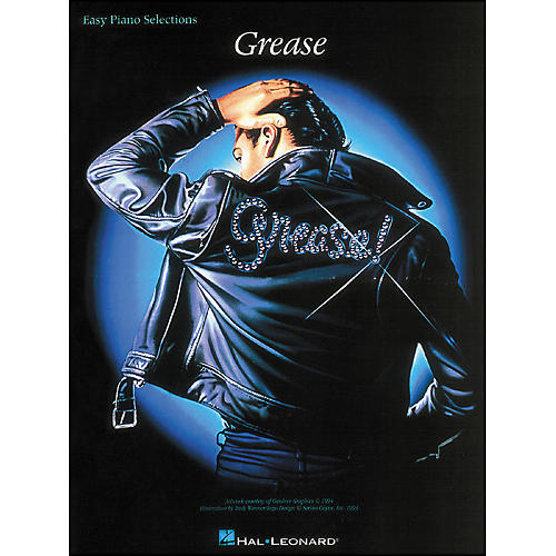 Hal Leonard Grease: Easy Piano Selections Songbook