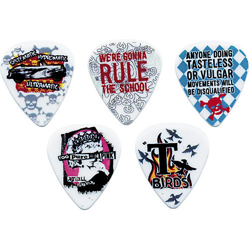 Clayton Grease Guitar Picks - 12-pack Medium