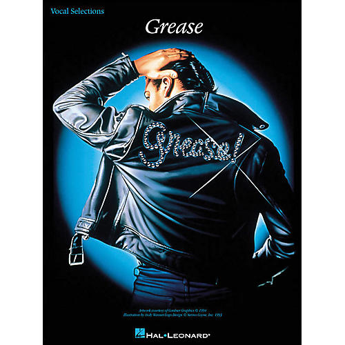 Hal Leonard Grease arranged for piano, vocal, and guitar (P/V/G)-thumbnail