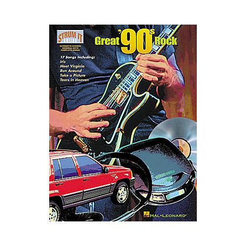 Hal Leonard Great '90s Rock Strum It Guitar Tab Songbook