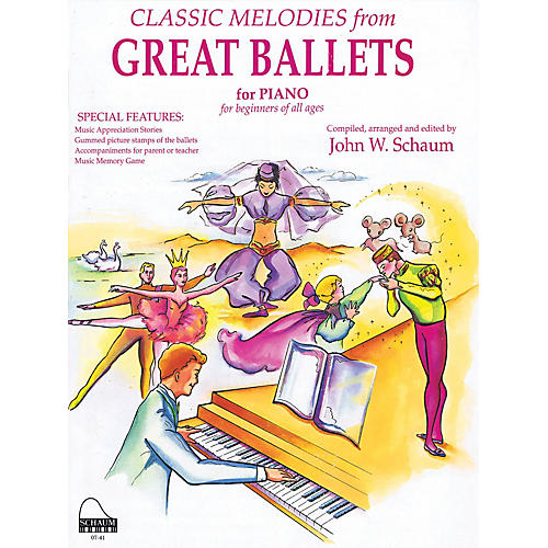 SCHAUM Great Ballets Educational Piano Series Softcover
