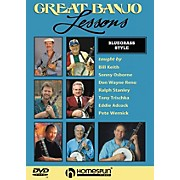 Homespun Great Banjo Lessons Bluegrass Style (DVD)
