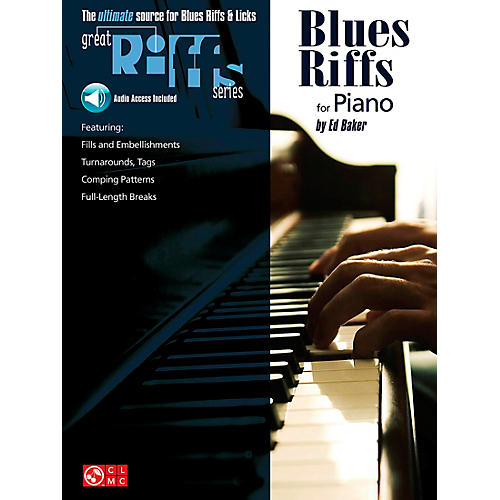 Cherry Lane Great Blues Riffs For Piano Book/CD-thumbnail