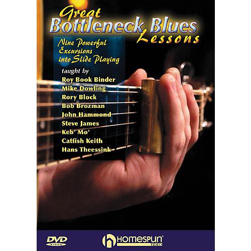 Homespun Great Bottleneck Blues Guitar Lessons (DVD)-thumbnail