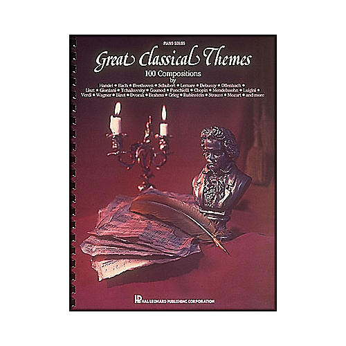 Hal Leonard Great Classical Themes - 100 Compositions for Piano Solo-thumbnail