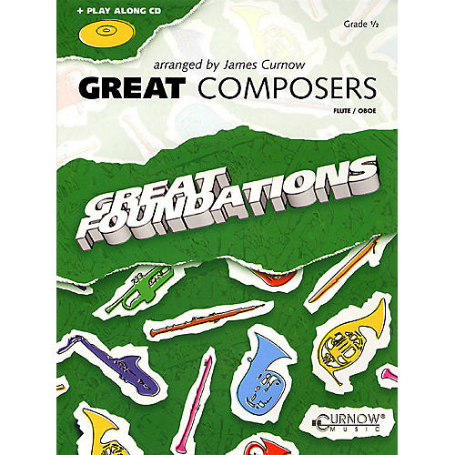Curnow Music Great Composers (Flute/Oboe - Grade 0.5) Concert Band Level 1/2