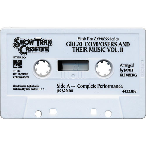 Hal Leonard Great Composers and Music Vol 2 Cassette